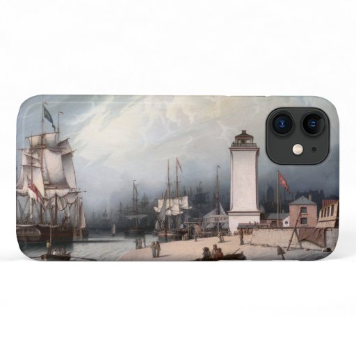 The Low Lighthouse, North Shields, England iPhone 11 Case