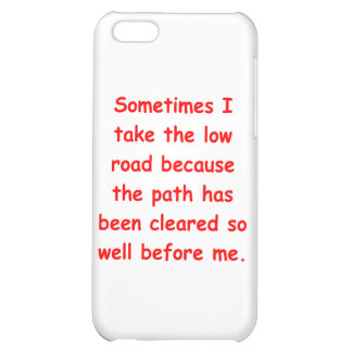 the low road iPhone 5C covers