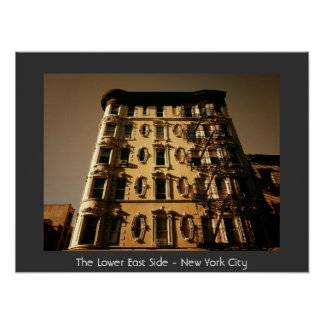 The Lower East Side - New York City Posters