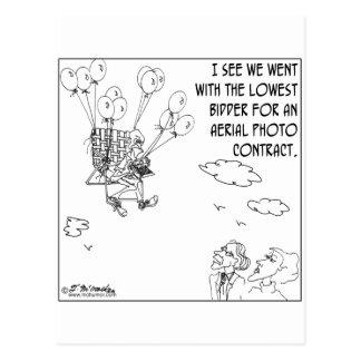 The Lowest Bidder Postcard