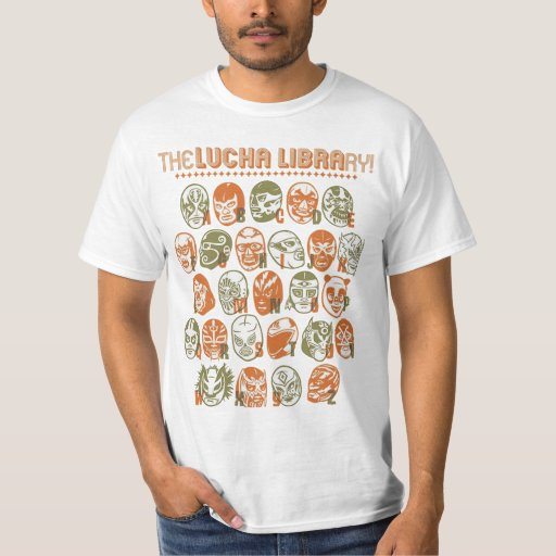 The Lucha Libre (from A-Z) T-shirt