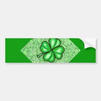 The Luck of the Irish. Bumper Sticker