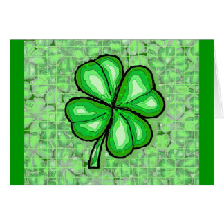 The Luck of the Irish. Card