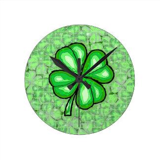 The Luck of the Irish Clock