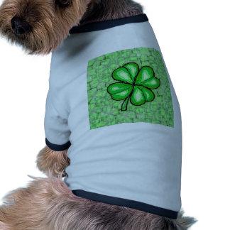 The Luck of the Irish. Dog T Shirt