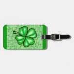 The Luck of the Irish. Luggage Tag