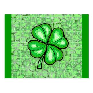 The Luck of the Irish. Postcard