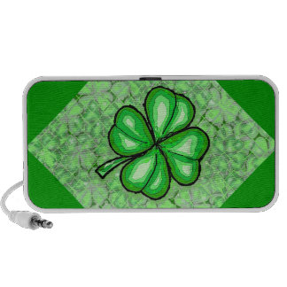 The Luck of the Irish. iPod Speakers