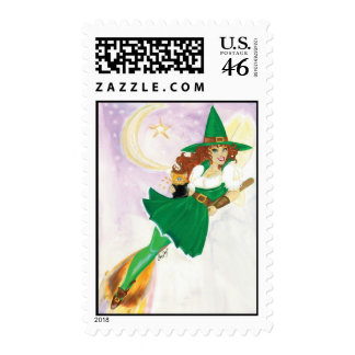 The Lucky Fairy Postage Stamp