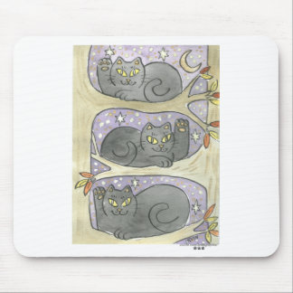 The Lucky Tree Trio Mouse Pad