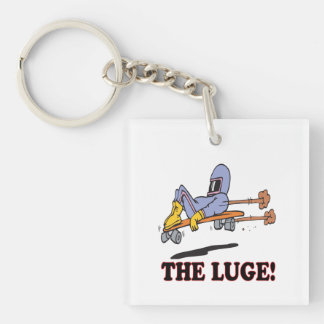 The Luge Keychain