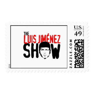 The Luis Jimenez Show official Stamp