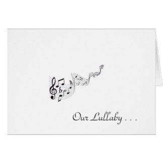 The Lullaby - Greeting Card