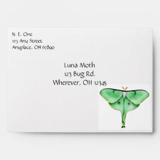 The Luna Moth Envelope