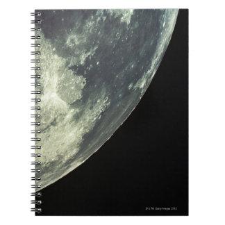 The Lunar Surface Spiral Notebook