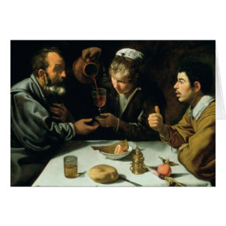 The Lunch, 1620 Card