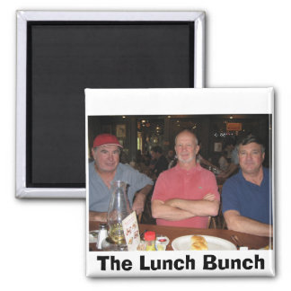 The Lunch Bunch Fridge Magnets