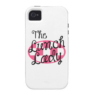 THE LUNCH LADY VIBE iPhone 4 CASE