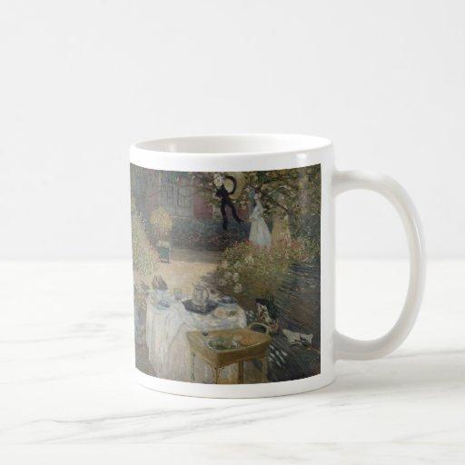 The Lunch (Le déjeuner) 1874 Claude Monet Coffee Mugs