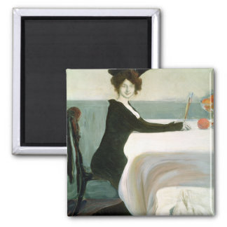The Luncheon 2 Inch Square Magnet