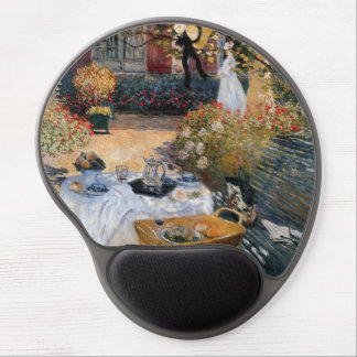 The Luncheon by Claude Monet Gel Mouse Pad