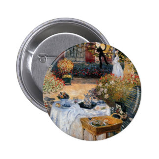 The Luncheon by Claude Monet Pinback Button