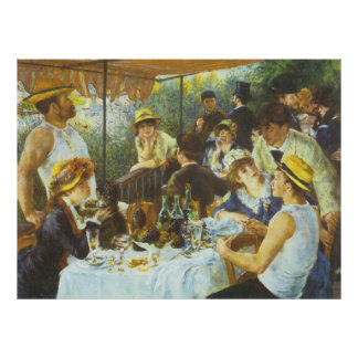 The Luncheon by Pierre-Auguste Renoir Poster