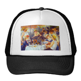 The Luncheon by Pierre Renoir Mesh Hats