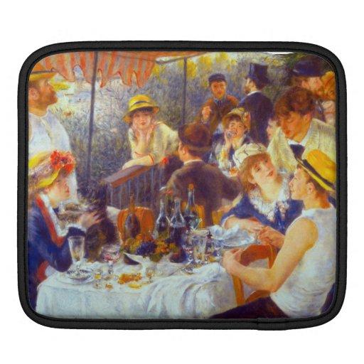 The Luncheon by Pierre Renoir iPad Sleeve