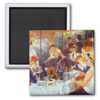 The Luncheon by Pierre Renoir Magnet