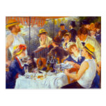 The Luncheon by Pierre Renoir Postcard