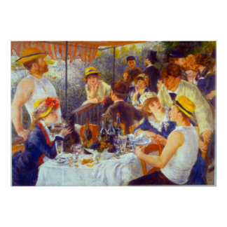 The Luncheon by Pierre Renoir Posters