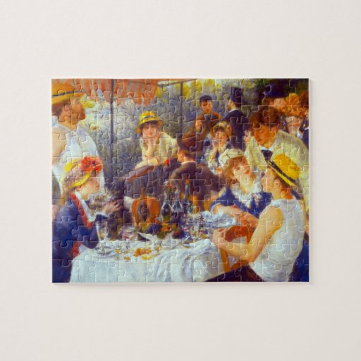 The Luncheon by Pierre Renoir Jigsaw Puzzle