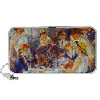 The Luncheon by Pierre Renoir Mini Speakers