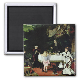 The Luncheon in the Conservatory, 1877 Magnet
