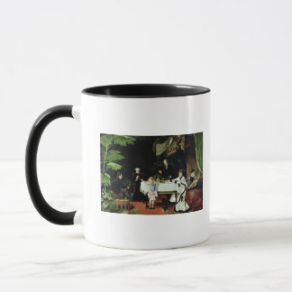 The Luncheon in the Conservatory, 1877 Mug