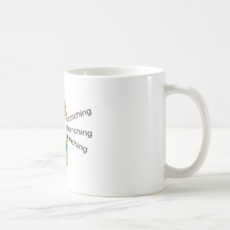 The Lunching, Bunching, Munching (LBM)Coffee Mug