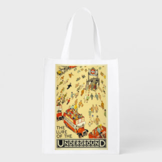 The Lure of the Underground, London Grocery Bag