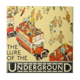 The Lure of the Underground, London Tile