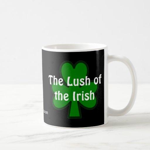 The Lush of the Irish Coffee Mugs