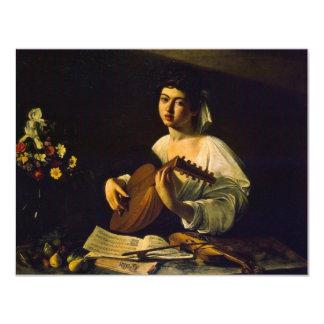 The Lute Player By Michelangelo Merisi Da Caravagg Invites