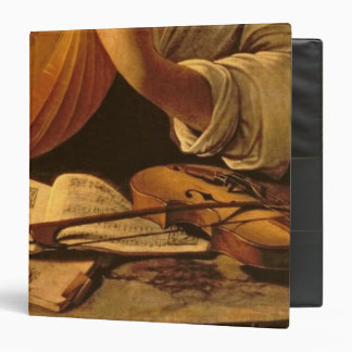 The Lute Player c 1595 Binders