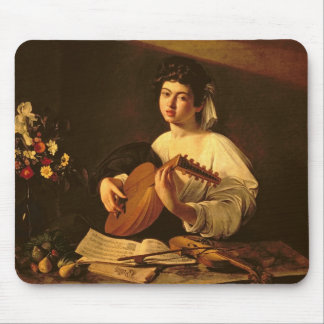 The Lute Player, c.1595 Mouse Pad