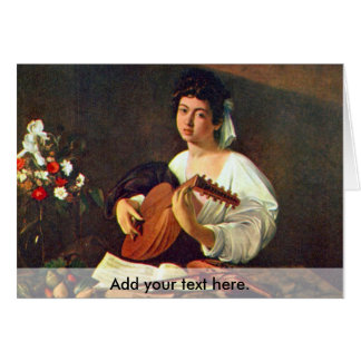 The Lute Player Card