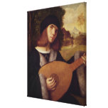 The Lute Player Gallery Wrapped Canvas