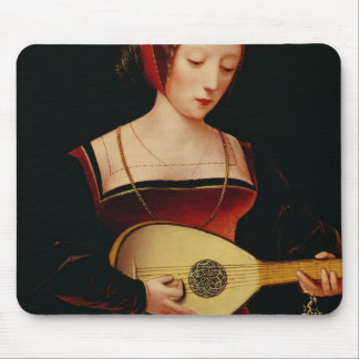 The Lute Player Mouse Pad