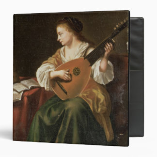The Lute Player oil on panel Binder