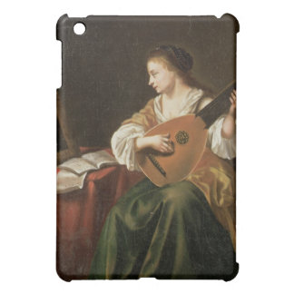 The Lute Player (oil on panel) iPad Mini Covers