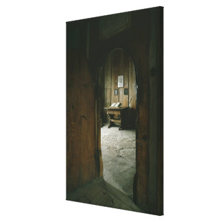 The Luther Room in the Wartburg Castle Canvas Print