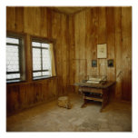 The Luther Room in Wartburg Castle Poster